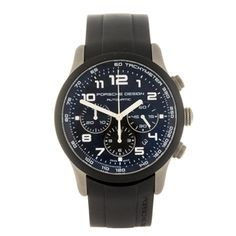 PORSCHE DESIGN - a gentleman's P'6612 wrist watch.    Estimate GBP: £500 - £700