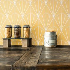 How cute is this yellow porcelain tile?! Perfect for a yellow aesthetic kitchen design our Palm Starburst Hex 6x7 Porcelain Tile in Mustard is the ideal finishing touch on a kitchen remodel! It retails starting at $14.99 SQ FT.