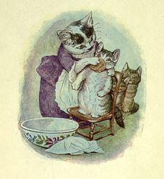 beatrix potter kittybath