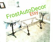 Camshaft Engine Table / Garage Engine Car Part by FrostAutoDecor