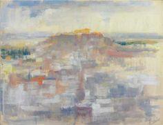 Periklis Vyzantios (1893-1972) Akropolis