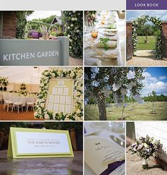 Kitchen Garden at Chewton Glen for wedding inspiration. Botanical menus photo by Abi Chadwick. Floral seating plan by Arcade Flowers and Lily Anna Rose, olive tree with maple die cut tags with calligraphy, table name in lime, napkin wrap menu with plum ribbon. Hand tied bouquet with Vermeer Calla Lilies, Lilac Freesia, Purple Lisianthus, Ivory Spray Roses, Eucalyptus Parvi by Bridal Flowers Direct and pretty photo by Hana Venn.