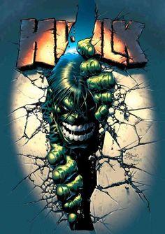 Mike Deodato Jr - Hulk