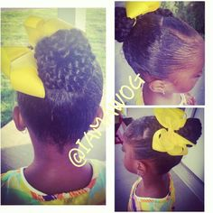 Natural hair styles for kids