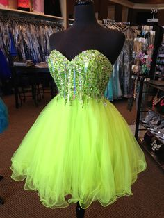 Sweetheart Sequin Top Tulle Bottom