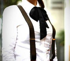 d9c1198cb68b0 Idées de tenues classe pour porter des bretelles femme en restant fidèle à son  propre style