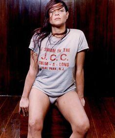 Cassia Eller, cantora brasileira.