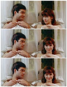 Anna Karina and Jean-Claude Brialy in Une femme est une femme by Jean-Luc Godard 1961 Anna Karina, Inspirer Les Gens, Divas, Francois Truffaut, French New Wave, Gena Rowlands, Films Cinema, French Movies, Jean Luc Godard