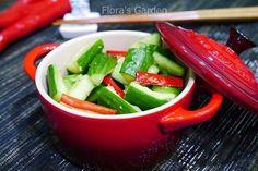 阿基師--涼拌小黃瓜快速入味法食譜、作法 | Flora的多多開伙食譜分享