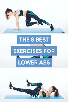 These effective exercises target multiple abdominal muscles, so you'll strengthen your entire midsection—including your lower abs—with every rep. #abworkouts #lowerabs Low Ab Workout, Intense Cardio Workout, Cardio Workouts, Lower Belly Fat, Lower Abs, Fitness Tips, Health Fitness, Sweat It Out, Resistance Bands
