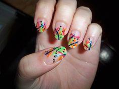 Nail art from the NAILS Magazine Nail Art Gallery, acrylic, trendy, Spring Nail Trends, Spring Nails, Crazy Nails, My Nails, Nail Art Photos, Hair Chalk, Rainbow Nails, Nail Art Hacks, Nail Art Galleries
