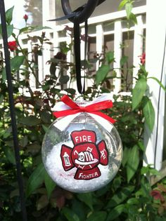 64 best Firefighter Ornaments images on Pinterest | Firemen ...