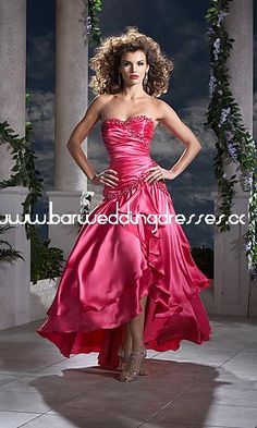 Strapless Pink Panoply Dress