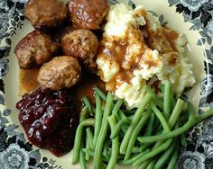 Authentic Swedish Meatballs - For Sunday Dinner I'll attempt one of my husband's favorite meals.