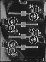 TRACTOR JOHN Deere Lolly Sucker Chocolate Candy Mold- I could definitely use this for a certain someone! Suckers Candy, Chocolate Lollipop Molds, John Deere Party, Candy Making Supplies, Chocolate Pops, Lollipop Sticks, Soap Molds, Dad Birthday, Mold Making