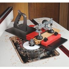 Woodworking Tv Shows Info: 3133010592 Woodworking Power Tools, Woodworking Bench Plans, Woodworking Clamps, Woodworking Books, Router Accessories, Router Jig, Espresso Machine, Sled, Eagle America