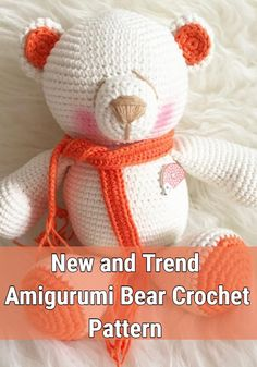 Free Crochet Bear Patterns,Bear Amigurumi Crochet Pattern-I have rounded up a huge list of free crochet teddy bear patterns for you to get inspired by these cute and soft teddy bears. You could absolutely make them with your own crochet hooks. Crochet Teddy Bear Pattern, Crochet Dolls Free Patterns, Crochet Bunny, Crochet Baby Hats, Amigurumi Patterns, Crochet Animals, Crochet Hooks, Free Crochet, Amigurumi Toys