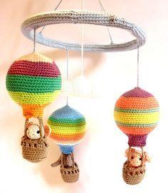 free hot air balloon crochet pattern - Google Search