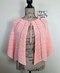 Chevron shawl capelet made to order in color of choice