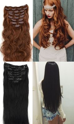 Beautiful hair with good hair stuff,volume and decorate yourself to be the unique one.