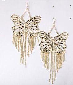 butterfly earrings ♥