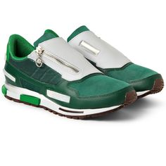 Image result for RAF SIMONS x Adidas Leather Sneakers