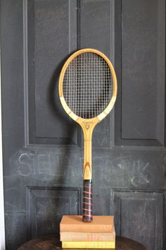 Vintage Champion wooden tennis Racquet by stellafrankvintage, $25.00