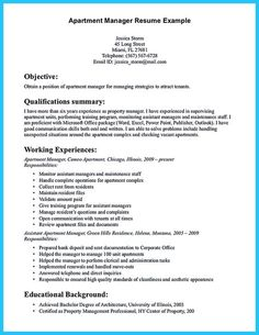 Property Management Resume Property Manager Resume Should Be Rightly Written To Describe Your