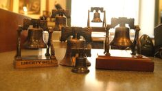 Our wide assortment of Liberty Bells.