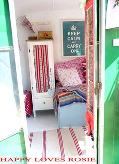 Caravan Interior / Retro English