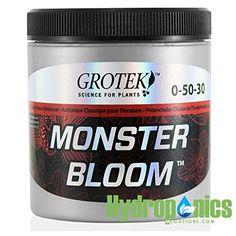 Grotek Monster Bloom 130 gm Gram  Hydroponics Flower Hardener Enhancer NutrientGY5834 6DFG263347 ** To view further for this item, visit the image link.