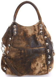 Barclays Distressed Shoulder Bag BE & D