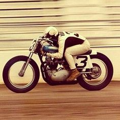 Moped Motorcycle, Flat Track Motorcycle, Flat Track Racing, Tracker Motorcycle, Road Racing, Vintage Motocross, Vintage Racing, Triumph Motorcycles, Vintage Motorcycles
