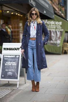 Jeans é peça chave na Semana de Moda de Londres | MdeMulher