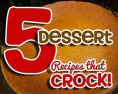 Dessert Recipes that cROCK!