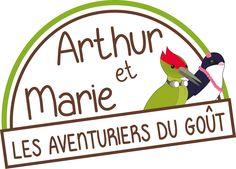 Logo pour Arthur et Marie.