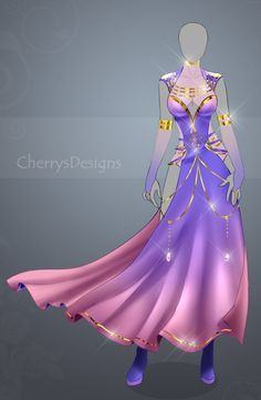 (closed) Auction Adopt - Outfit 444 by CherrysDesigns.deviantart.com on @DeviantArt