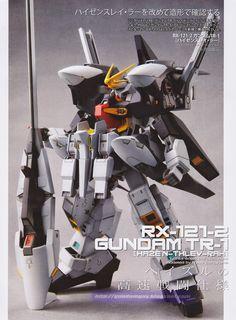 GUNDAM GUY: 1/144 RX-121-2 Gundam TR-1 [HAZE'N-THLEY-RAH] - Custom Build