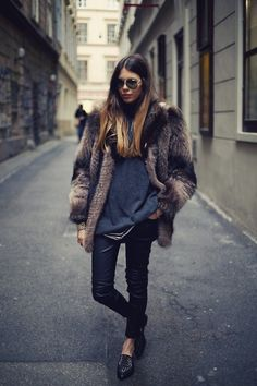 fur coat, fur jacket, chic, style, winter style, winter fashion, model, fashion blogger,