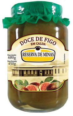 """DOCE DE FIGO EM CALDA"""" RESERVA DE MINAS"""" // www.deliciaslatina.es"""