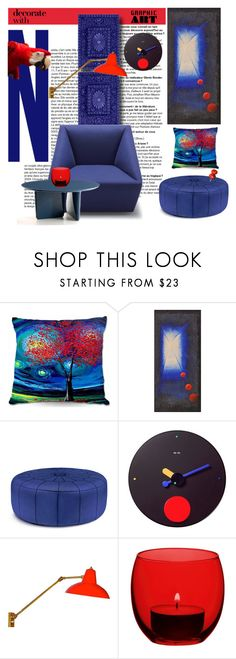 """""""Untitled #6421"""" by ana-angela ❤ liked on Polyvore featuring interior, interiors, interior design, home, home decor, interior decorating, Jonathan Adler, REXITE, Stilnovo and LSA International"""