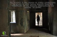 Il viaggio è una specie di porta attraverso la quale si esce  dalla realtà come per penetrare in una realtà inesplorata che sembra un sogno. - Guy de Maupassant.     Visita il tempio Ta Prom con Cambogia Viaggi.    Scopri i nostri itinerari su www.cambogiaviaggi.com    #cambogiaviaggi #siemreap #taprom #explorer #cambogia #cambodia
