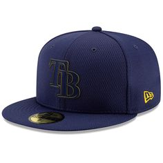 new arrival 2875f 8932d Men s Tampa Bay Rays New Era Navy 2019 Clubhouse Collection 59FIFTY Fitted  Hat, Your Price