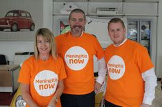 A Close Shave.  Raising money for our chosen charity Meningitis Now. General Manager Darren Preddy of Wessex Garages Gloucester and Digital sales Executive Marc Jeavons shaved off their hair with the help of the amazing Mandy Osborn.