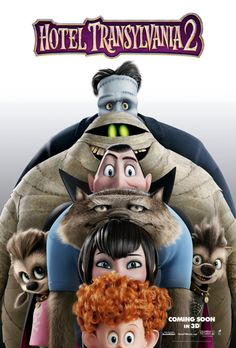 New International Poster for Hotel Transylvania 2