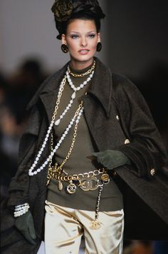 Linda for Chanel, f/w 1992/93