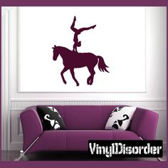 Equastrian Wall Decal - Vinyl Decal - Car Decal - NS002