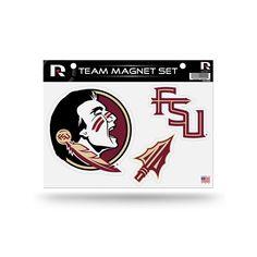 Florida State Seminoles Team Magnet Set, Multicolor