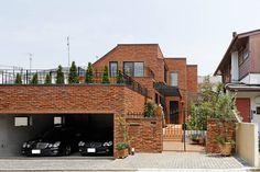 ガレージハウス 現代のアーツアンドクラフツ建築 アーキッシュギャラリー