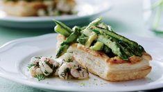 Butterdej med rejer og asparges | Femina